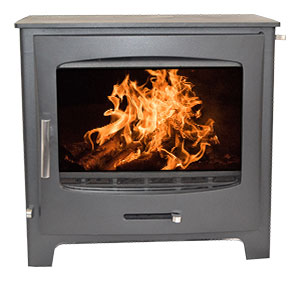 Devon Fireplace from the Echo Range without a stand